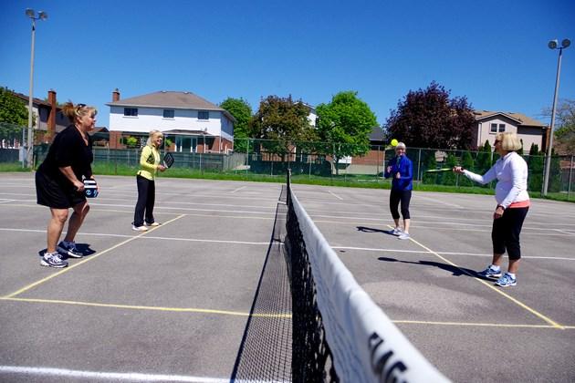 South Confederation Park serving up a new sport